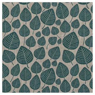 Leaves - Moss Green Fabric