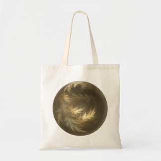 Leaves of Change Fractal Canvas Bags