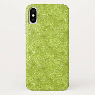 Leaves of Palm Tree iPhone X Case