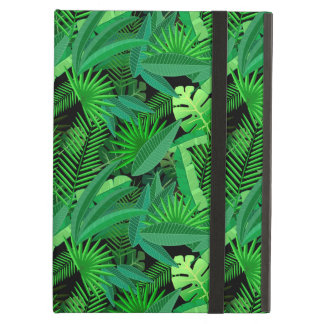 Leaves Of Tropical Palm Trees iPad Air Covers