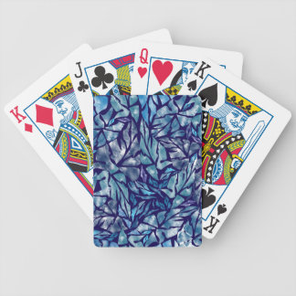 leaves pattern  B Bicycle Playing Cards
