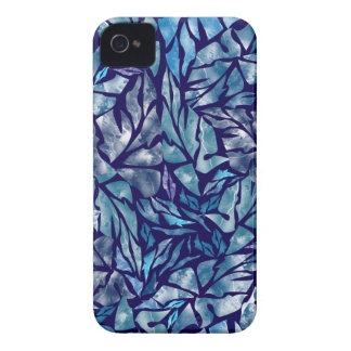 leaves pattern  B iPhone 4 Case-Mate Case