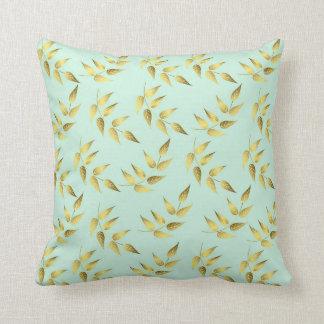 Leaves sea breams cushion