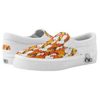 Leaves Slip-On Shoes