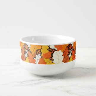 Leaves Soup Mug