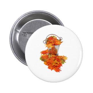 LeavesIceBucket062109 Pinback Button