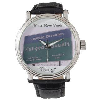 Leaving Brooklyn New York Fuhgeddaboudit Watch