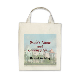 Leaving Paradise Island Wedding Products Bags