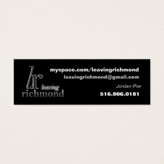 Leaving Richmond Profile Card