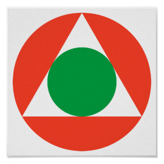 Lebanese Air Force Roundel Poster