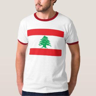 Lebanese Flag - Flag of Lebanon علم لبنان T-Shirt