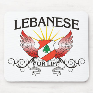 Lebanese For Life Mouse Pad