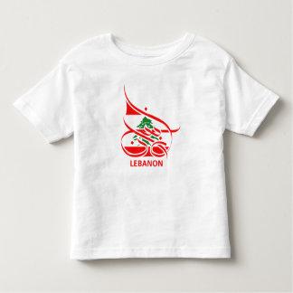 Lebanon لبنان toddler T-Shirt