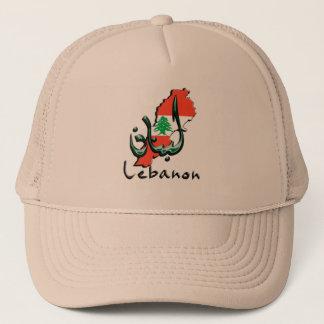 Lebanon 3D bilingual Ball Cap