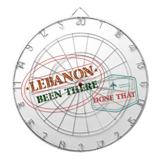 Lebanon Been There Done That Dartboard