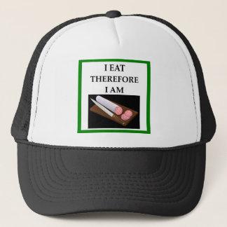 lebanon bologna trucker hat