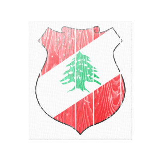 Lebanon Coat Of Arms Gallery Wrap Canvas