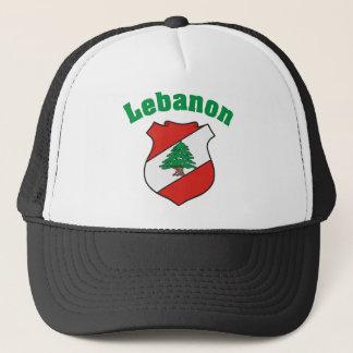 Lebanon Coat of Arms Hat / Lebanese Flag
