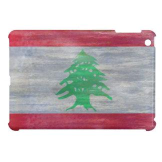 Lebanon distressed flag iPad mini cover