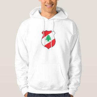 lebanon emblem hoodie
