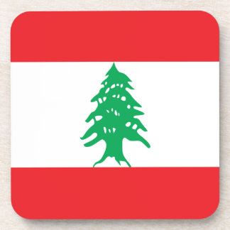 Lebanon Flag Coaster