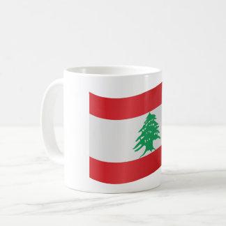 Lebanon Flag Coffee Mug