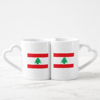 Lebanon Flag Coffee Mug Set