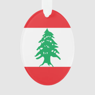 Lebanon Flag Ornament