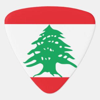Lebanon Flag Plectrum