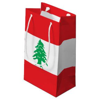 Lebanon Flag Small Gift Bag