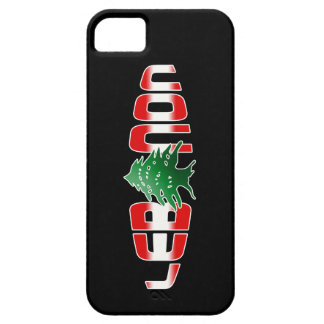 Lebanon iPhone 5 Cover