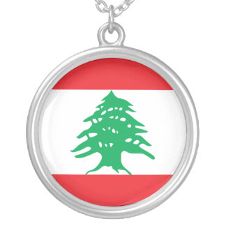 Lebanon, Latvia Silver Plated Necklace