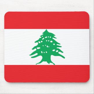 Lebanon National World Flag Mouse Pad