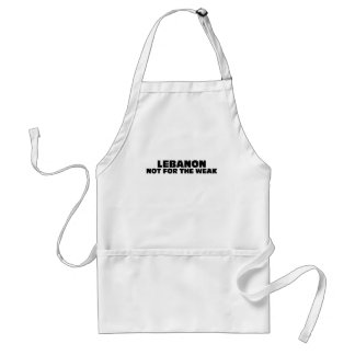 Lebanon-Not for the Weak Standard Apron