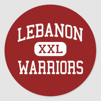 Lebanon - Warriors - High School - Lebanon Ohio Sticker