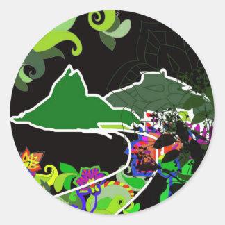 Leblon - Rio De Janeiro - Brazil Classic Round Sticker