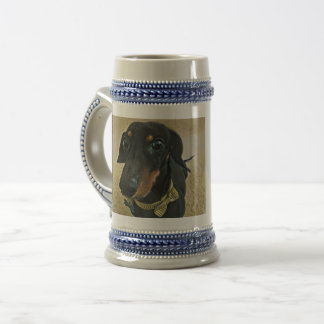 LeBron the Dachshund Beer Stein