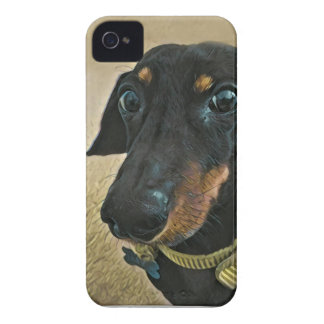 LeBron the Dachshund Case-Mate iPhone 4 Cases