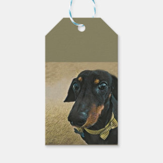 LeBron the Dachshund Gift Tags