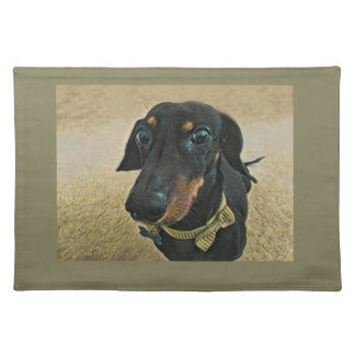 LeBron the Dachshund Placemat