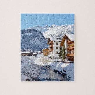 Lech in Austria Souvenir Jigsaw Puzzle