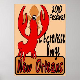 L'Ecrevisse Rouge Poster