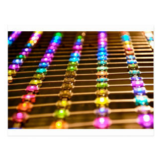 LED Abstraction Postcard