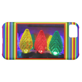 LED Colored Art iPhone 5C Case