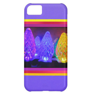 LED Colored Lights iPhone 5C Cover