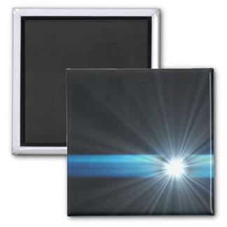 LED supernew facts Square Magnet