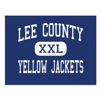 Lee County - Yellow Jackets - High - Sanford Postcard