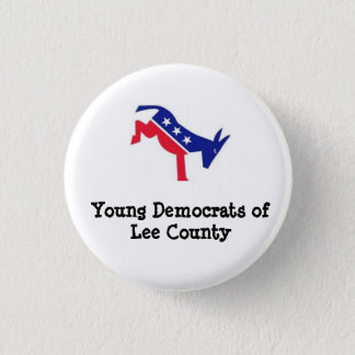 Lee County Young Democrats 3 Cm Round Badge