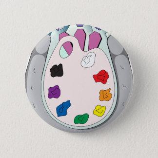 Lee Walker Fine Art 6 Cm Round Badge