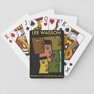 Lee Wasson Poker Deck